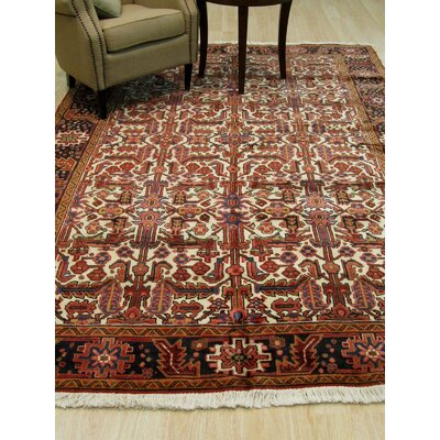 Aren Hand-Knotted Ivory Area Rug