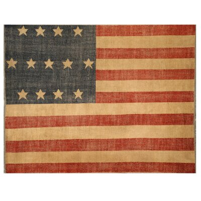 American Flag Area Rug Rug Size: 8 x 10