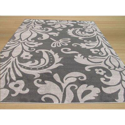 Gitta Modern Gray Area Rug Rug Size: 710 x 106