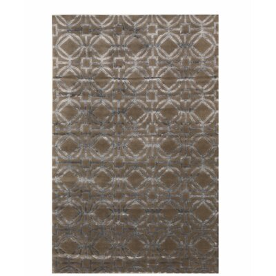 Jon Tibetan Hand-Knotted Brown Area Rug