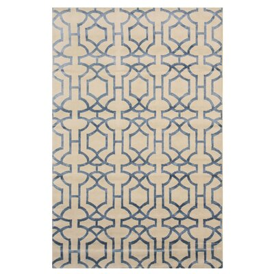 Allina Hand-Knotted Ivory Area Rug
