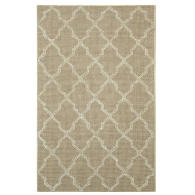 Northledge Hand-Tufted Beige Area Rug