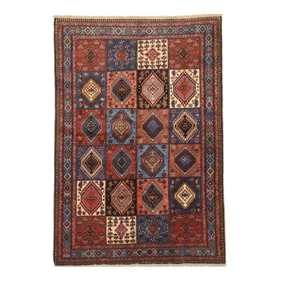 Middleton Elegant Traditional Hand-Knotted Wool Rust/Ivory Area Rug