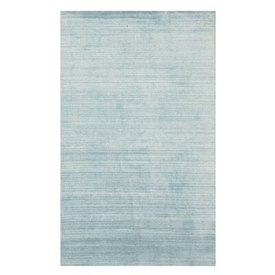 Kelbark Contemporary Hand-Woven Wool Blue Area Rug Rug Size: 8 x 10