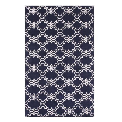 Radcliffe Hand-Tufted Wool Blue Area Rug