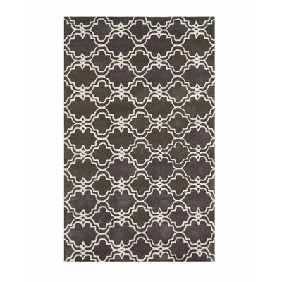 Trellis Radcliffe Hand-Tufted Wool Gray Area Rug