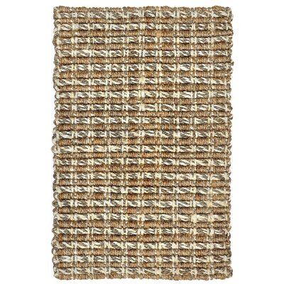 Intoppo Jute Taupe Area Rug Rug Size: 4 x 6