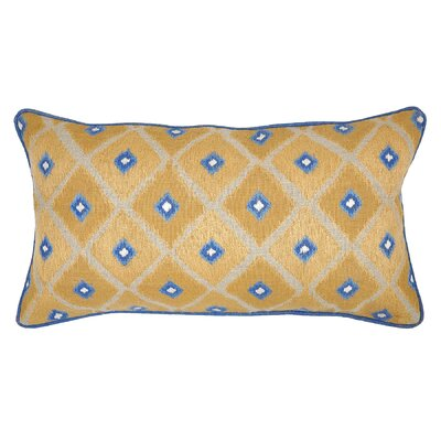 Grinity Linen Throw Pillow Color: Gold