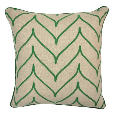 Foglia Linen Throw Pillow