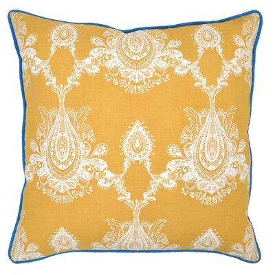 Cece Throw Pillow Color: Gold