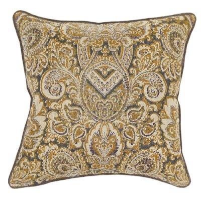 Salma Cotton Throw Pillow Color: Iron
