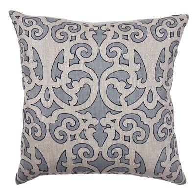 Joon Cotton Throw Pillow Color: Slate Blue