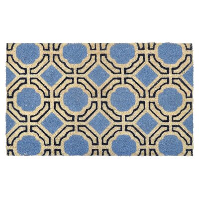Madeline Doormat Color: Navy / Light Blue