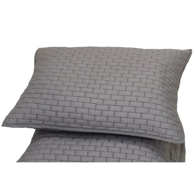Trejos Sham Size: Euro, Color: Grey