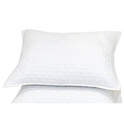 Ember Sham Color: White, Size: Standard