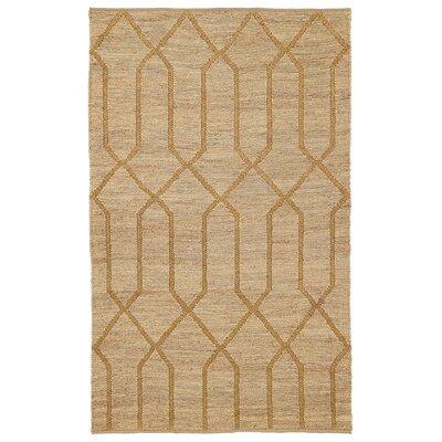 Kyra Gold Soumak Indoor/Outdoor Rug Rug Size: 8' x 10'