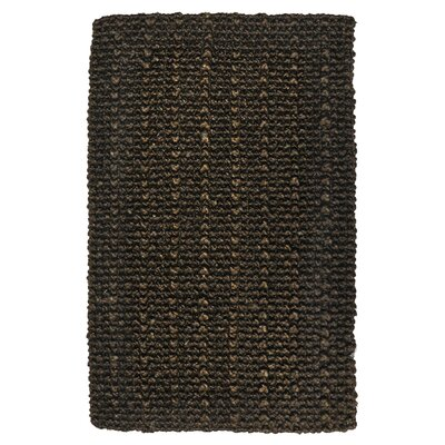 Eva Chocolate Knobby Loop Indoor/Outdoor Rug Rug Size: 4 x 6
