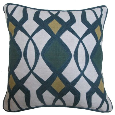 Theda Cotton-Linen Throw Pillow