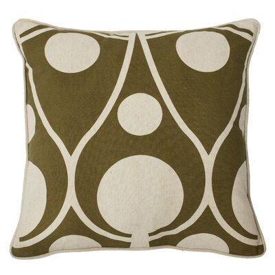 Lava Cotton/Linen Throw Pillow