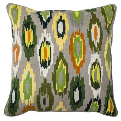 Godseye Cotton-Linen Throw Pillow