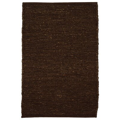 Soumakh Jute Brown Area Rug Rug Size: Rectangle 8 x 10