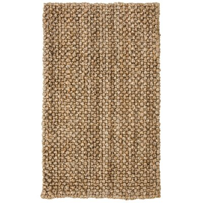 Hand Woven Natural Area Rug Rug Size: Rectangle 8 x 10