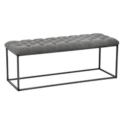 Brett Coffee Table Color: Granite, Size: 18 H x 48 W x 16 D