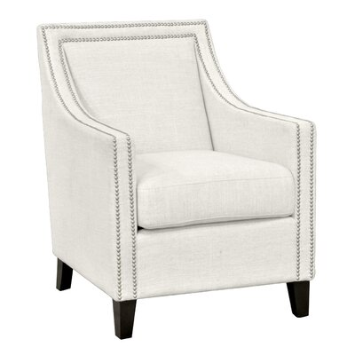 Debra Armchair Color: Ivory
