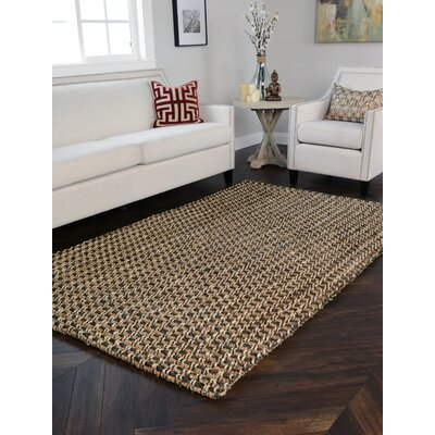 Intoppo Jute/Gray Area Rug Rug Size: Rectangle 5 x 8