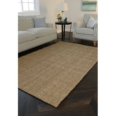 Sea Floor Natural Area Rug Rug Size: Rectangle 4 x 6