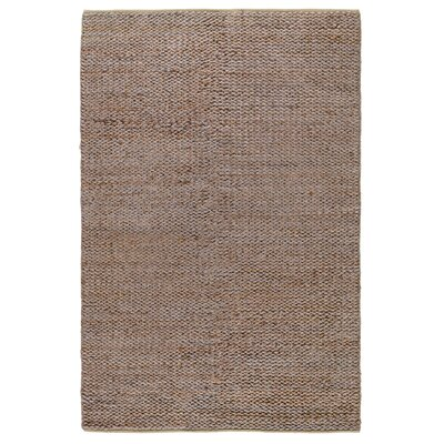 Emeline Hand-Woven Silver/Copper Area Rug Rug Size: 5 x 8