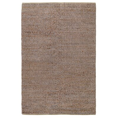 Emeline Hand-Woven Silver/Copper Area Rug Rug Size: 8 x 10
