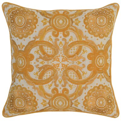 Collinsville Throw Pillow Color: Yellow