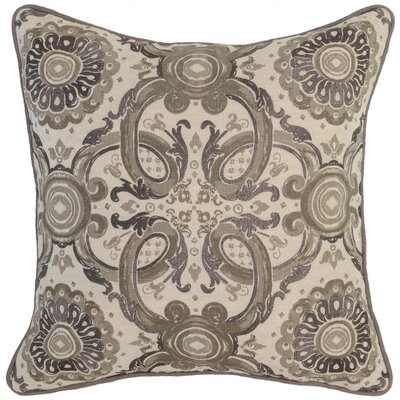 Collinsville Throw Pillow Color: Taupe