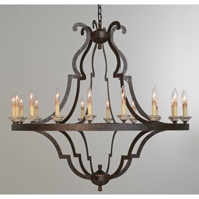 Marie 18-Light Candle-Style Chandelier