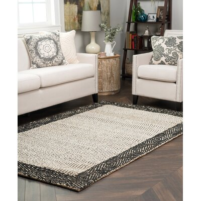 Verge Diamond Border Biege Indoor/Outdoor Area Rug Rug Size: 5 x 8