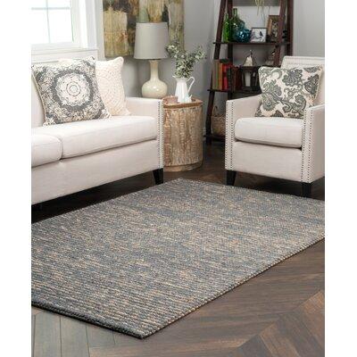 Valerie Wool Jute Slate Area Rug Rug Size: 2 x 3