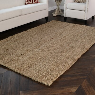 Anello Natural Area Rug Rug Size: Rectangle 9 x 12