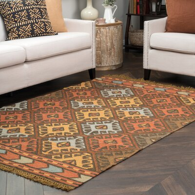 Abigail Kilim Indoor/Outdoor Area Rug Rug Size: 5 x 8