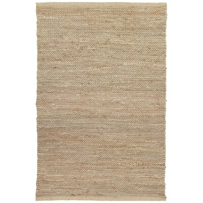 Soumakh Jute Natural Area Rug Rug Size: Rectangle 2 x 3