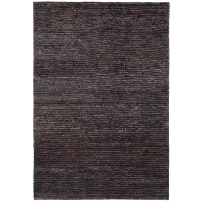 Sedose Hand-Woven Chocolate Area Rug Rug Size: Rectangle 5 x 8