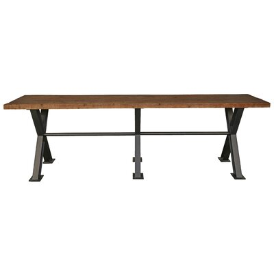 Durant Rustic Pine Dining Table