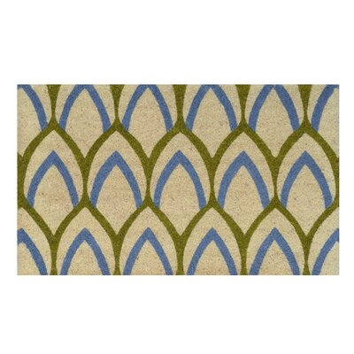 Fidelia Doormat Color: Blue