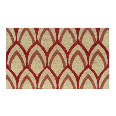 Fidelia Doormat Color: Red