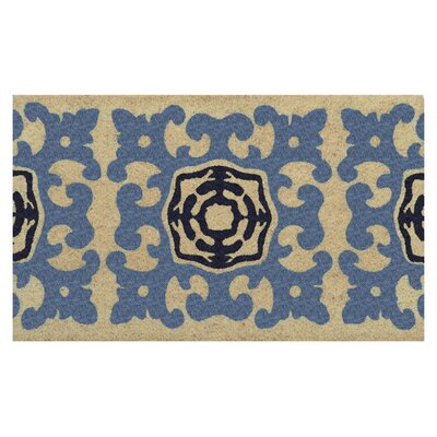 Bayou Doormat Color: Navy