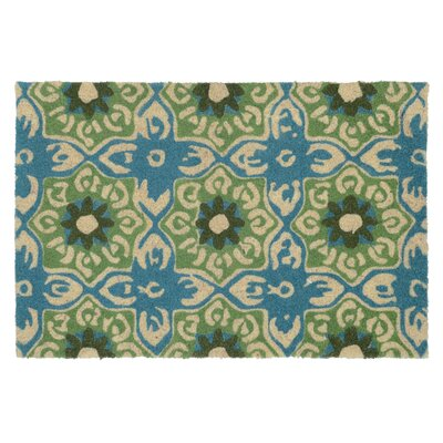 Filbert Doormat Color: Teal