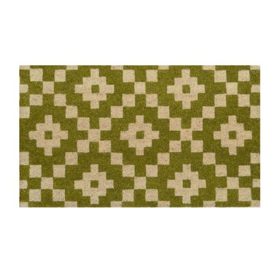 Arnold Doormat Color: Green