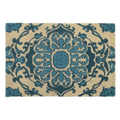 Beachmont Doormat Color: Blue