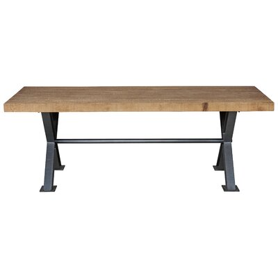 Durant Pine Dining Table Size: 38 H x 86 W x 30 D