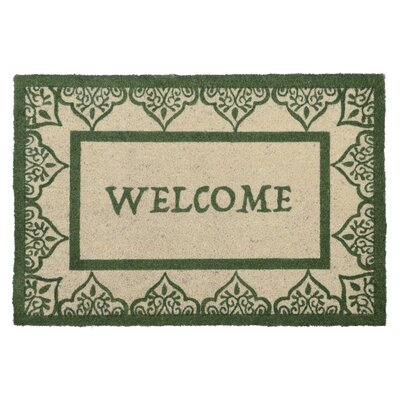 Barnaby Doormat Color: Green